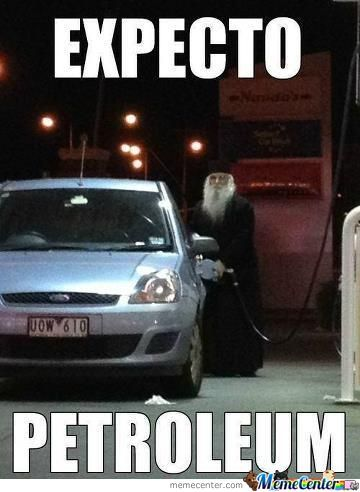Dumbledore With His Car
