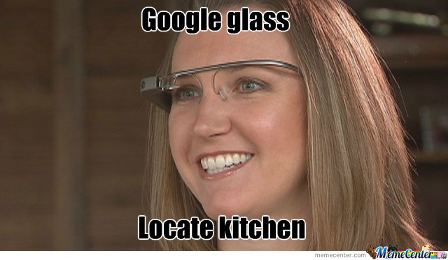 Woman With Google Glass