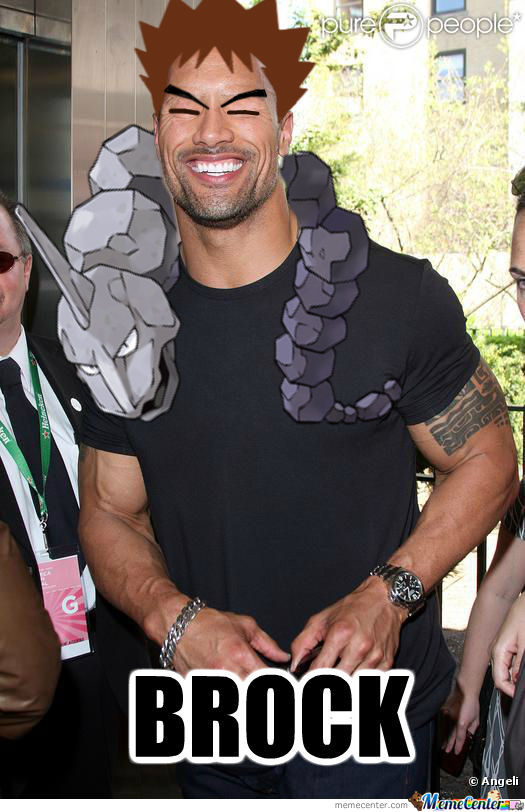 "Dwayne ""the Brock"" Johnson"
