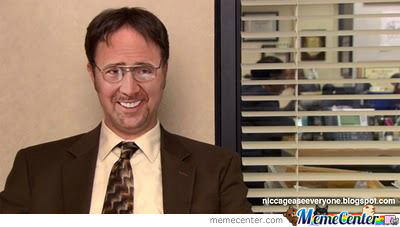 Dwight Cage... Nick Schrute