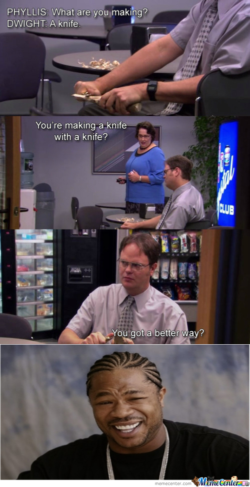 Dwight Is Pretty Sharp