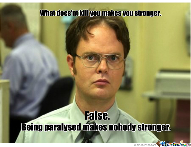 Dwight Schrute Does It Again.