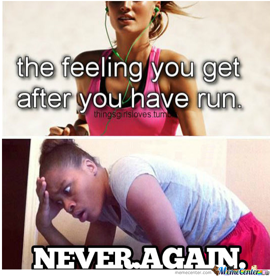 Each Time I Run