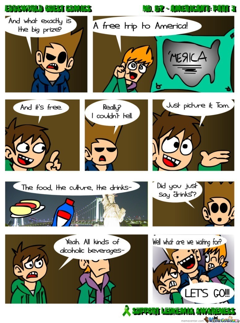 Eddsworld - American't: Part 3