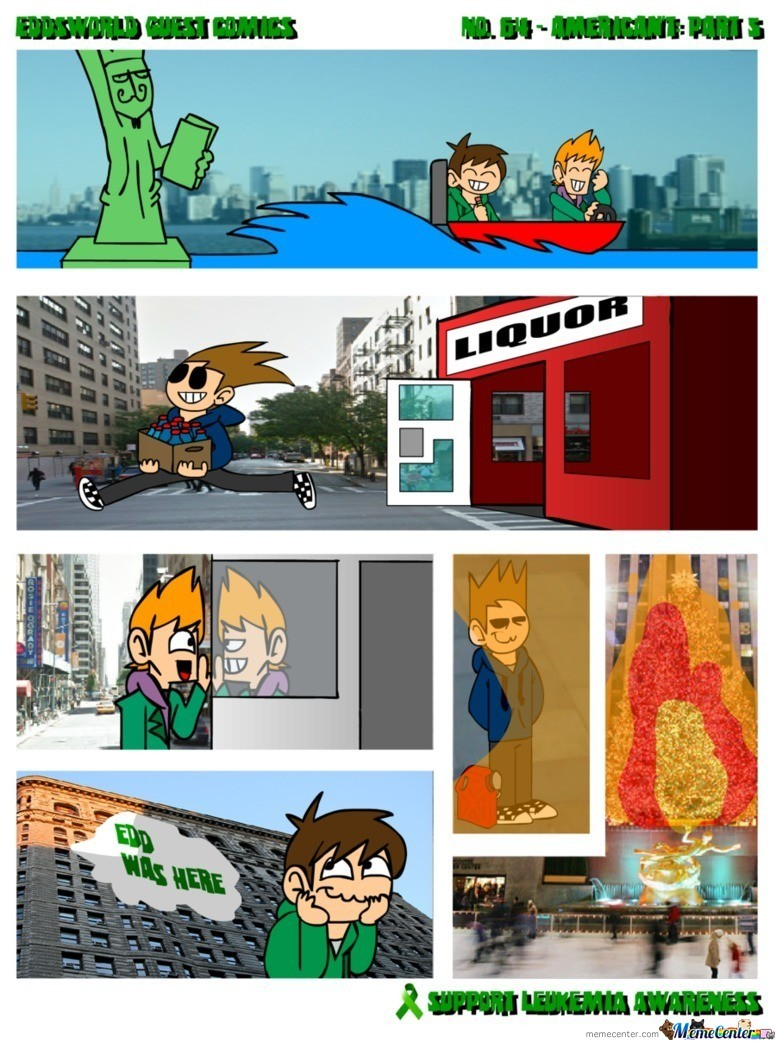 Eddsworld - American't: Part 5