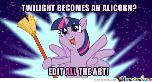 Edit All The Art