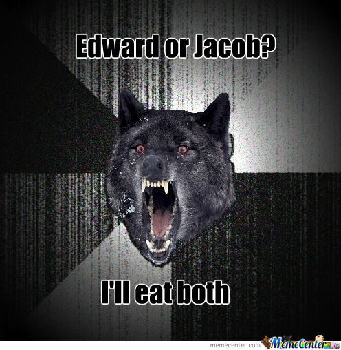 Edward Or Jacob?