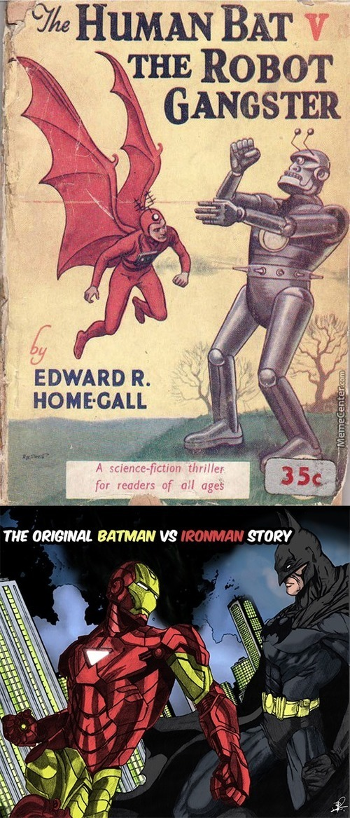 Edward R Home Gall Made Batman Vs Ironman Before It Was Cool