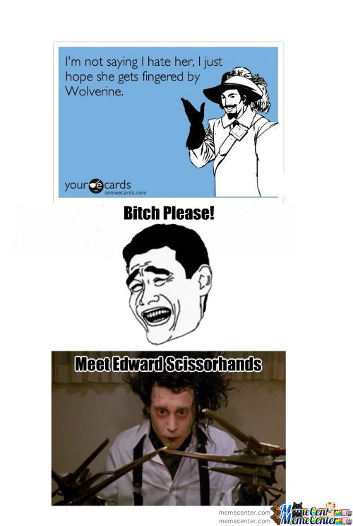 Edward Scissorhands Vs Wolverine
