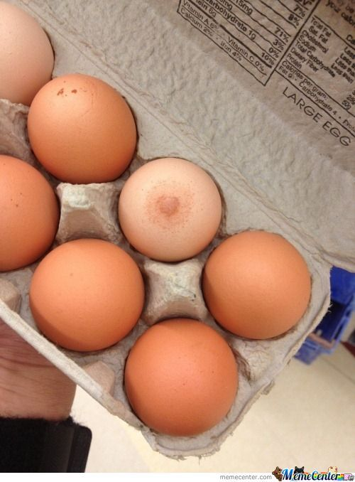 Eggs Never Looked So Sexy.