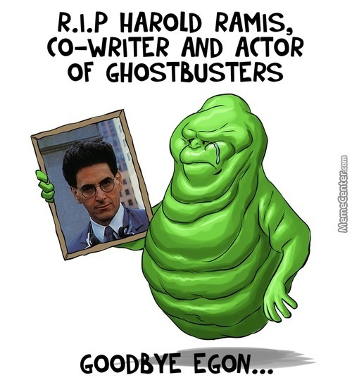 Egon Is Gone...