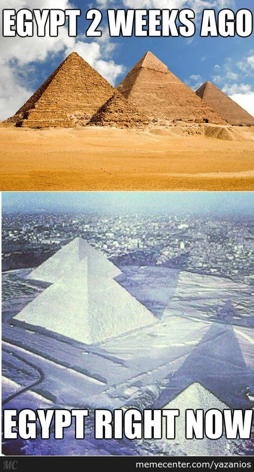 Egypt Then And Now