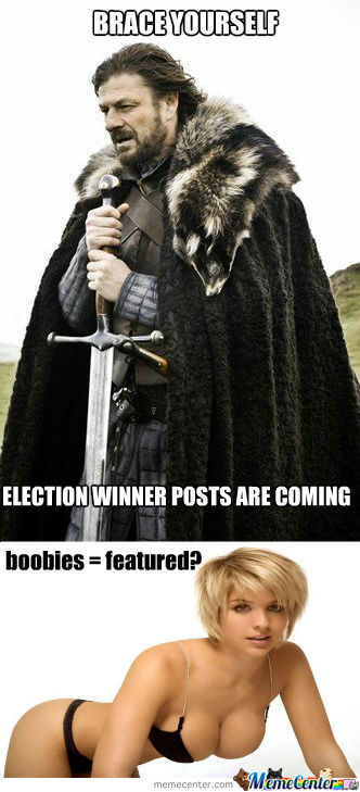 Election And Boobies!