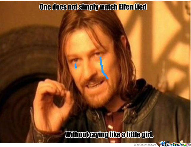 Elfen Lied Is Sad