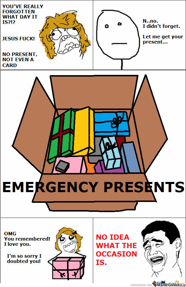 Emergency Present Box