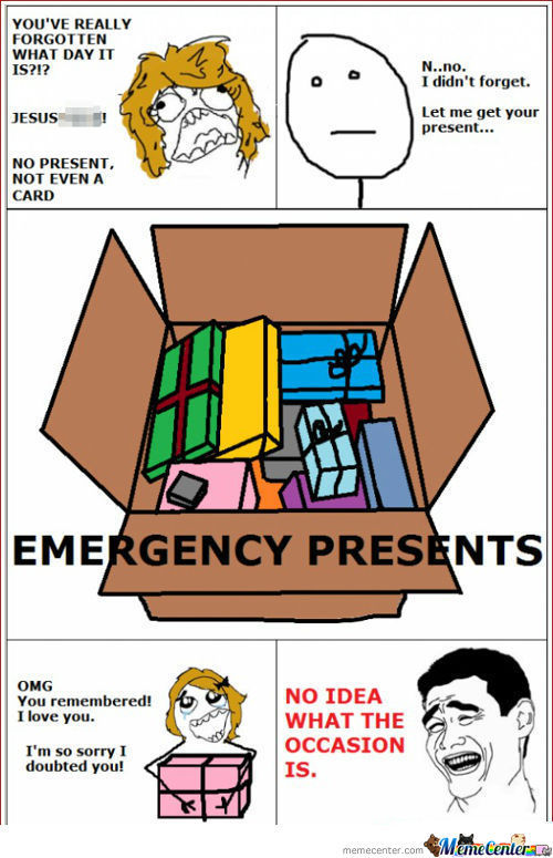 Emergency Presents