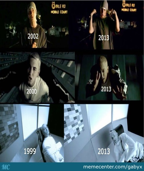 Eminem Then And Now