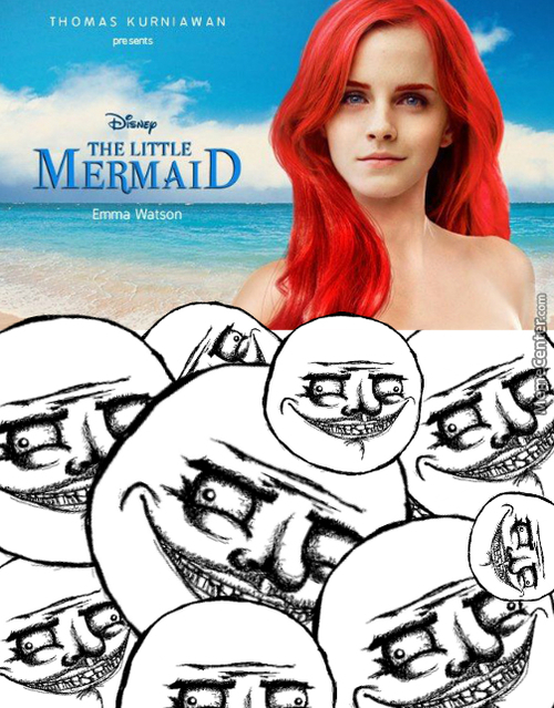 Emma Whatson As A Mermaid? Me Gusta!
