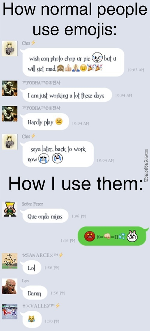 Emoji's Are Fun!
