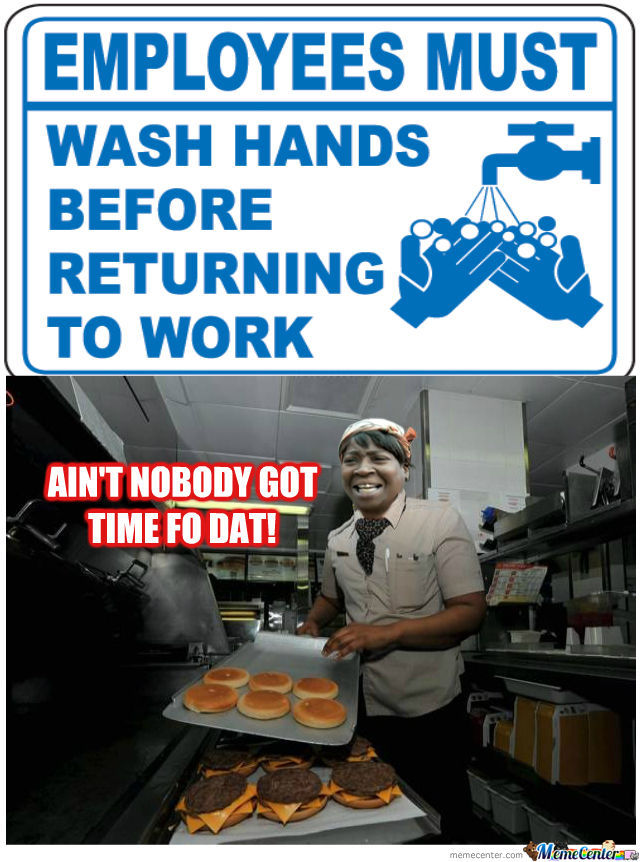 Fastfood fuck at work on the clock - 2 1