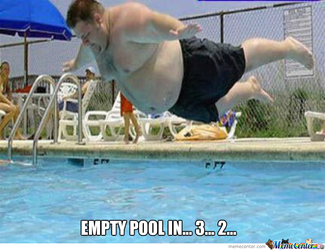 Empty Pool In 3... 2...