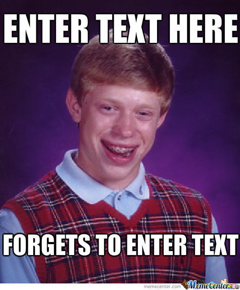 Enter Text Here (Thanks Again Max B)