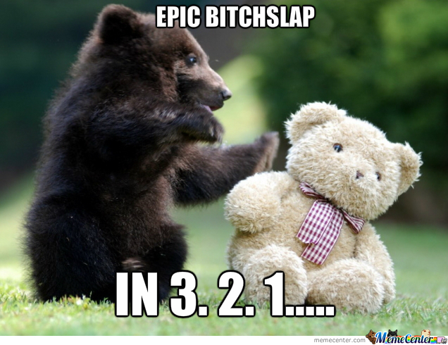 Epic Bearslap