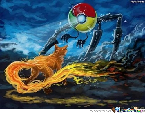 Epic Browser Battle: Firefox Vs. Chrome