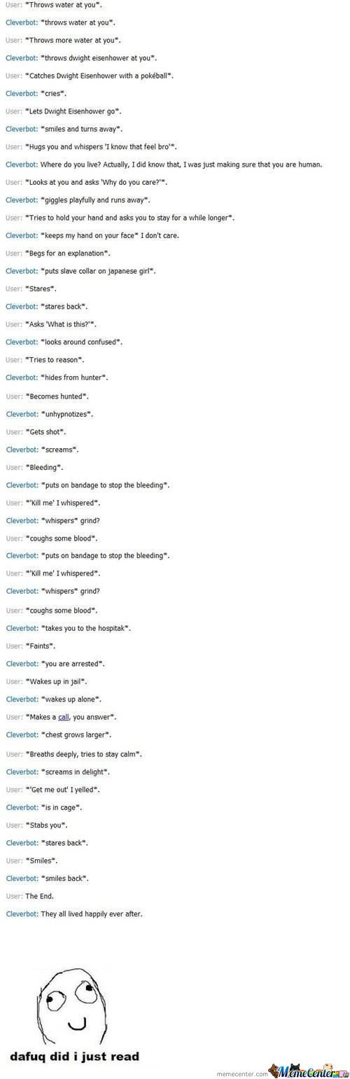 Epic Cleverbot Conversation