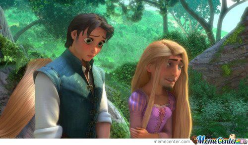 Epic Face Swap.....tangled Style!!!