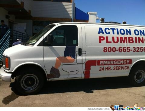 Epic Plumbing Van Decal