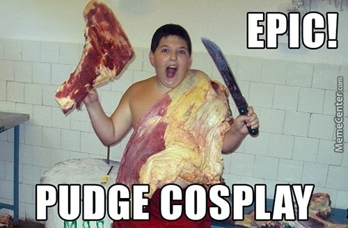 Epic Pudge Cosplay!