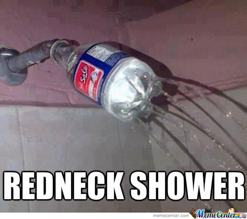Epic Shower Fail
