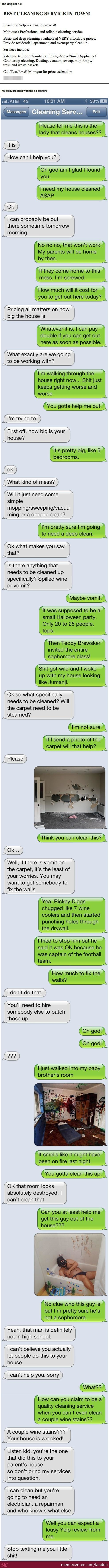 Epic Text Prank