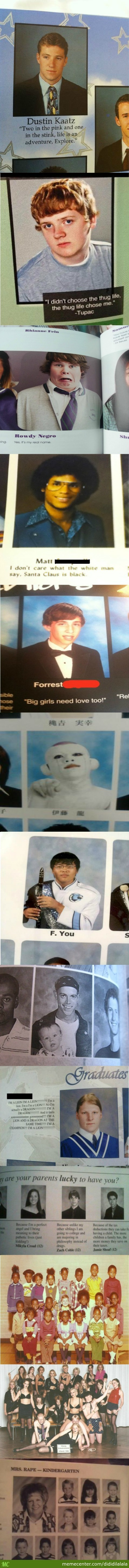 Epic Yearbook Photos
