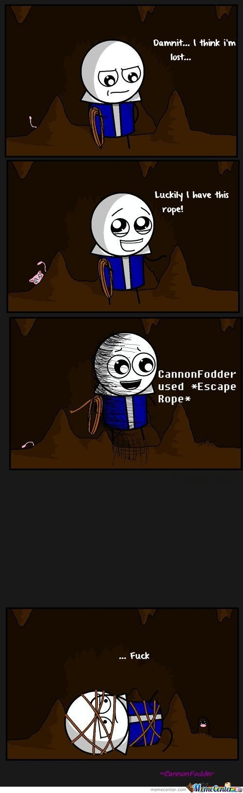 Escape Rope Is Useful