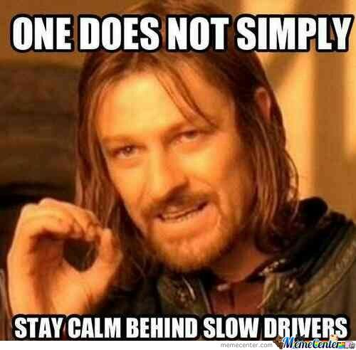 Especially When You Are Driving To Mordor.