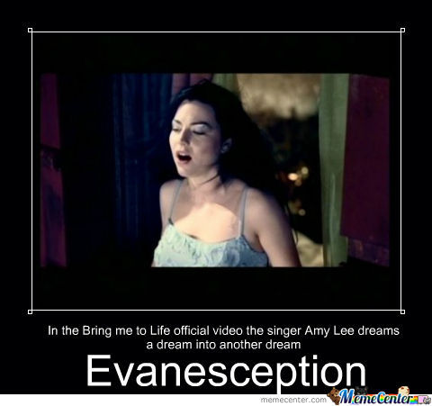 Evanescence Met Inception Before It Was Cool