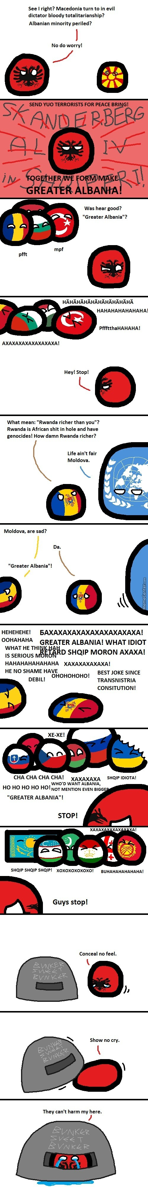 """Even A Greater Joke Than """"greater Serbia"""""""