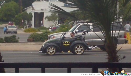 Even Batman Got Hit By The Economy