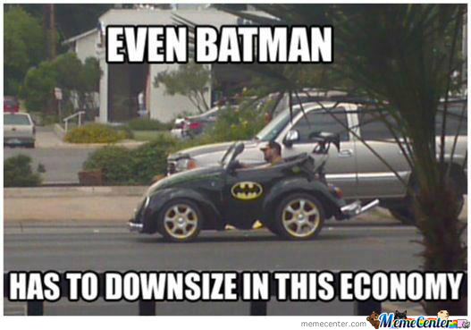 Even Batman...