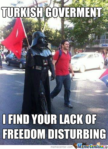 Even Darth Vader Joins The March