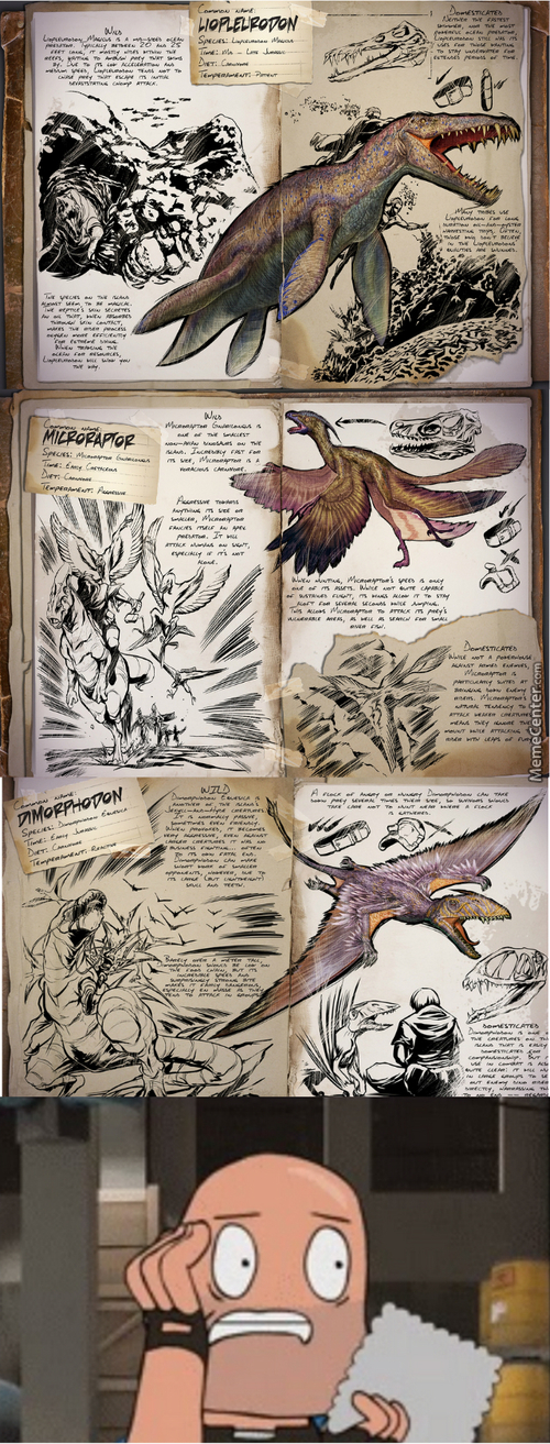 Ever Had That Feeling That A Game Is About To Get Ridiculously Hard? (Game: Ark: Survival Evolved)