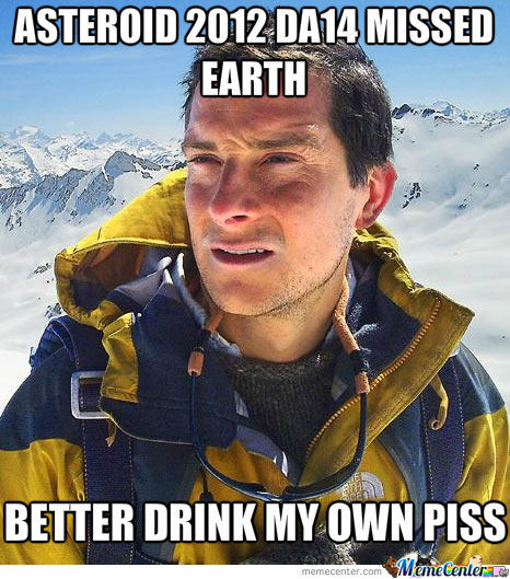 Every Occasion Means Celebration For Bear Grylls