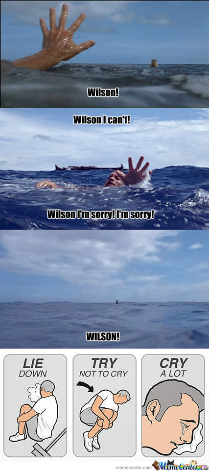Every Time I Watch 'cast Away'