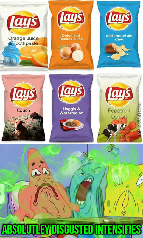 Everyone's Favorite Flavors In A Bag Of Air!