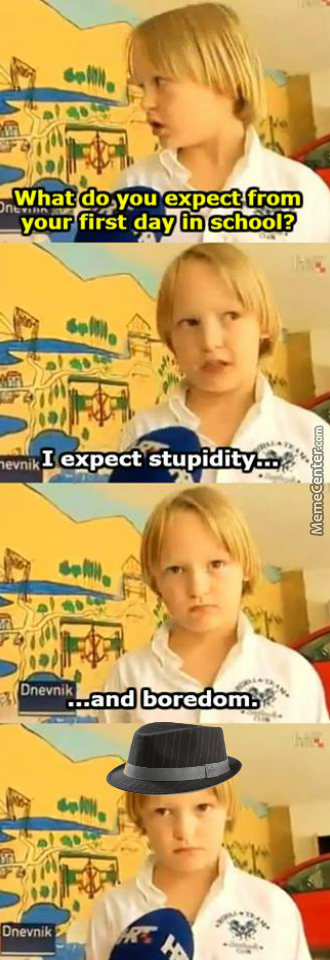 Everyone Is Stupid But Me