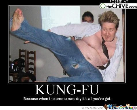 Everyone Was Kung Fu Fighting
