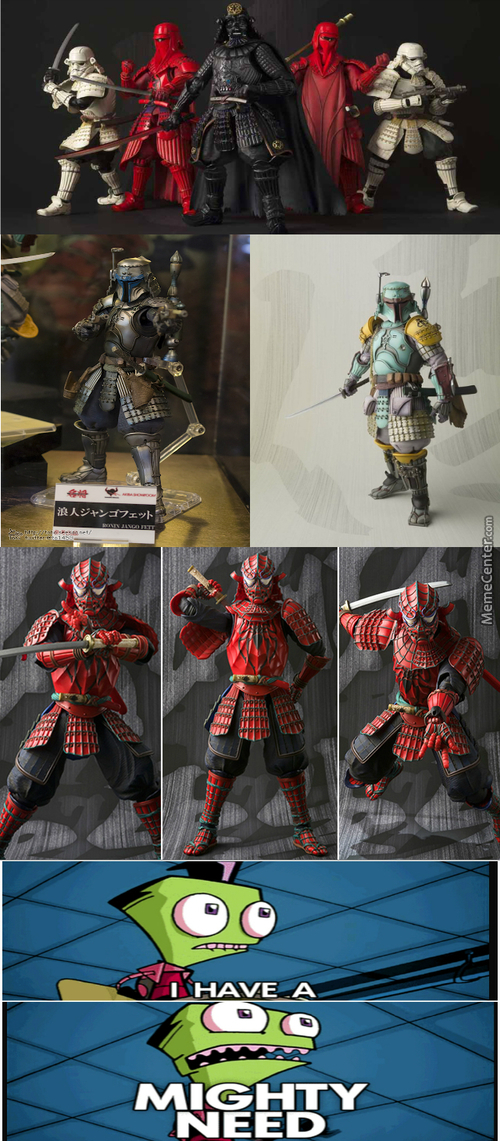 Everything Better With Samurai Armor
