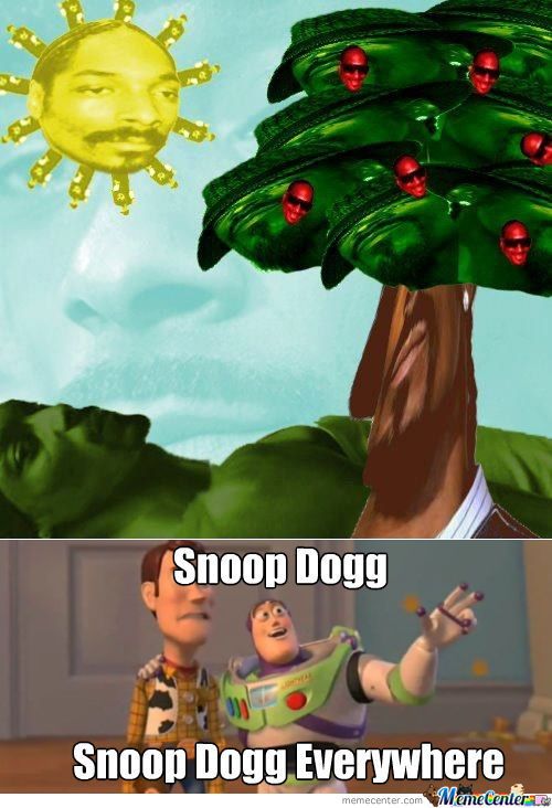 Everything In This Picture Is Snoop Dogg